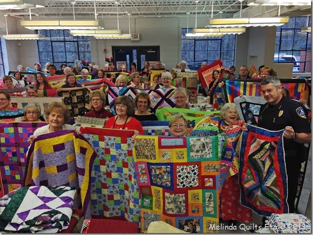 1213 Police and145 quilts