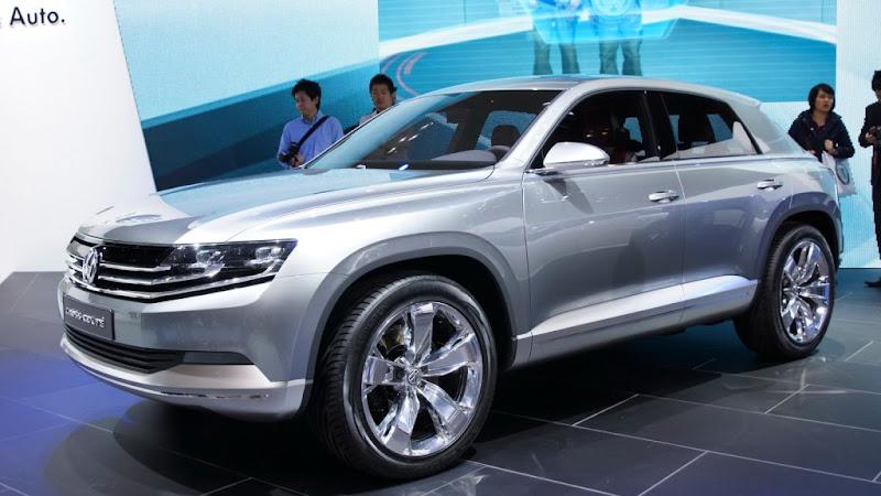 Volkswagen Cross Coupe Konsept Tanıtıldı