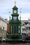 The Berkeley Memorial Clock - Basseterre, St. Kitts