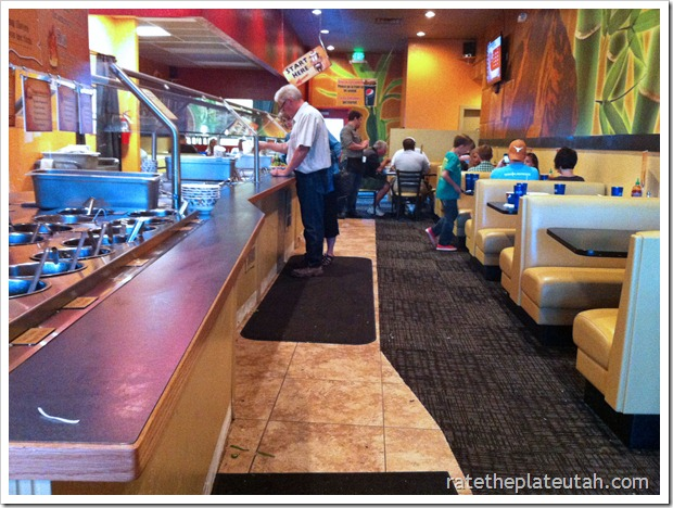 Mongo's Stirfry Interior