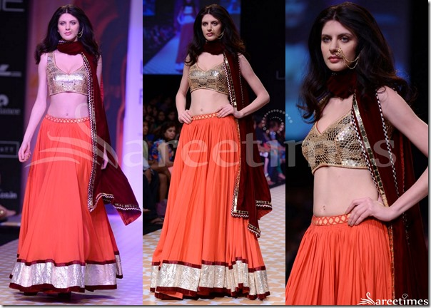 Archana_Kochhar_Orange_Lehenga