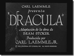 Spanish Dracula Title