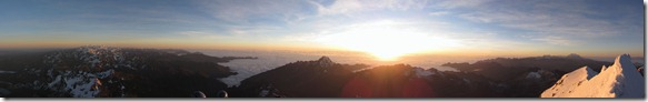 Panorama Huayna Potosi I