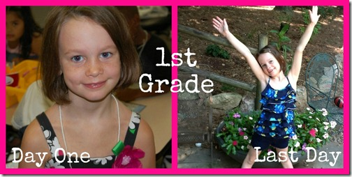 Lawson First and Last Day of 1st grade C