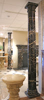 Tuscan Polished Michelangelo Marble Column