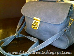 periwinkle purse, bitsandtreats