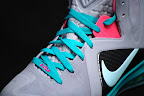 nike lebron 9 ps elite grey candy pink 8 09 LeBron 9 P.S. Elite Miami Vice Official Images & Release Date