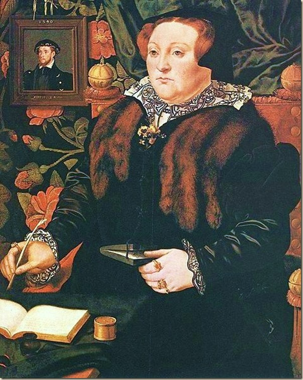 Hans Eworth, Portrait  de Lady Dacre, 1540