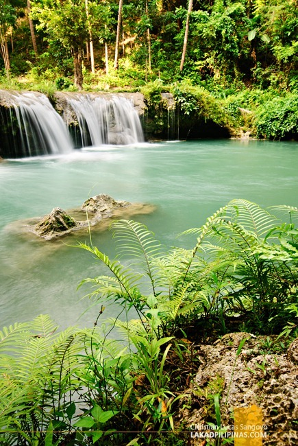 Watch Out for Huge Rocks if you Plan to Swim at Siquijor's Cambugahay Falls