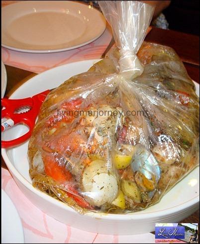 Seafood Boil In a Bag Clawdaddy