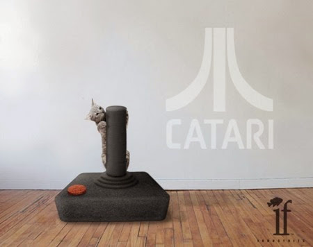 Catari Cat Scratch Post from If Industries