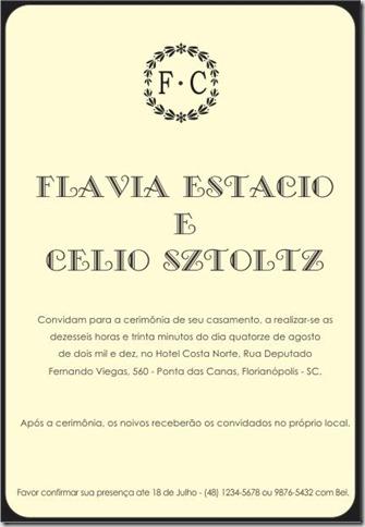 Convite M-01