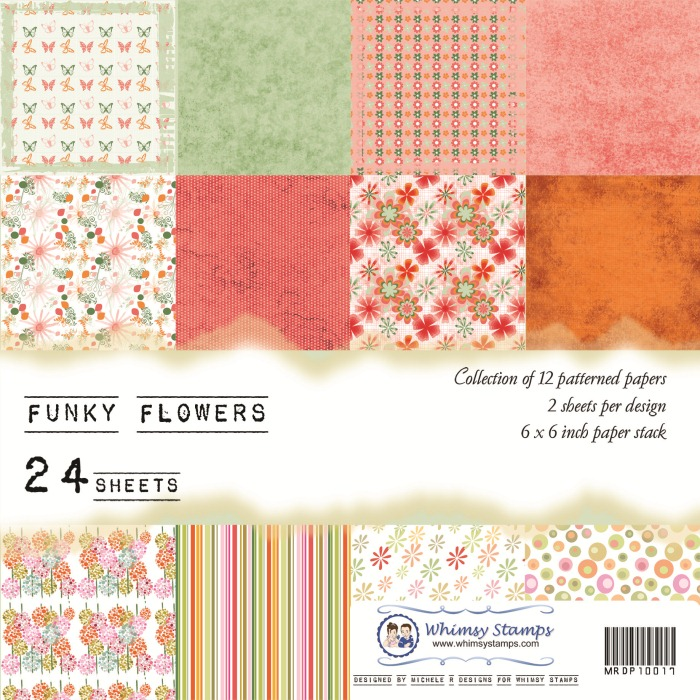 Funky Flowers Front Sheet