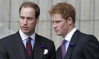 PRINCE HARRY & WILLIAM