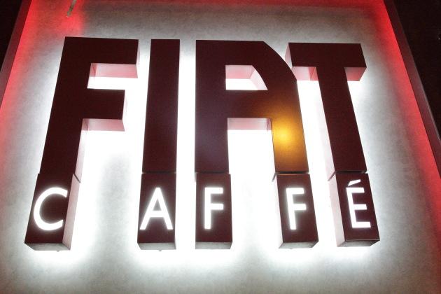 Fiat Cafe at Hong Kong