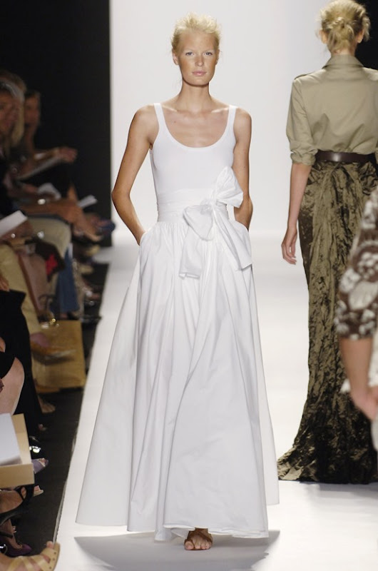 Michael Kors Spring 2006 white