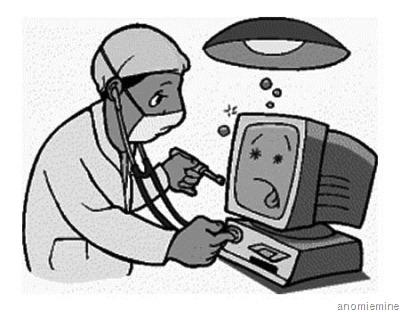 komputer sering restart