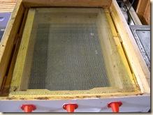 Pollen basket filter