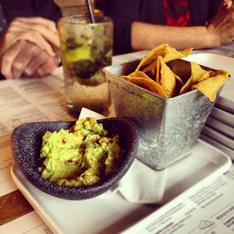 #91 - guacamole and tortillas at Wahaca
