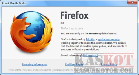 Download Firefox 8 Final Terbaru