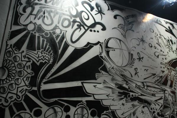 LeBron James 4xMVP Art Installation Wynnwood Miami