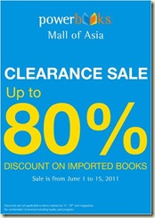 Powerbooks Clearance Sale