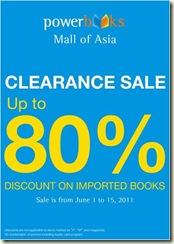 Powerbooks Clearance Sale