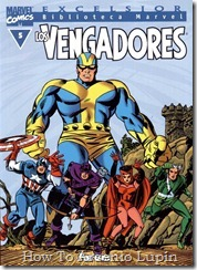 P00005 - Biblioteca Marvel - Avengers #5