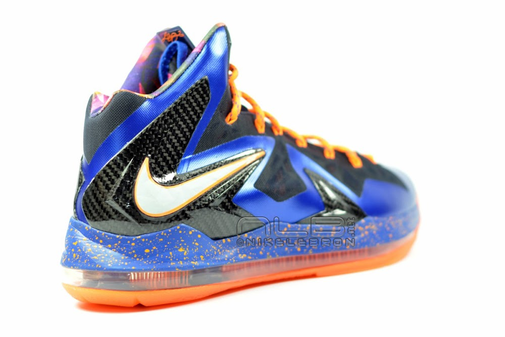 ... The Showcase Nike LeBron X PS Elite Superhero Lace Swap ...