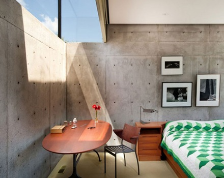 Casa oklahoma la simplicidad utilidad verdad y visi n arquitect nica arquitexs - Muros de hormigon ...