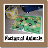 1st Grade Nocturnal Farm Animals Game