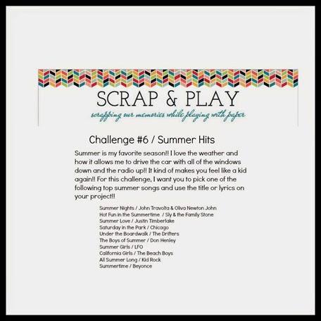 scrap & Play challenge #6