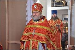 Протоієрей Георгій Шевчук, протодиякон Ігор Савієвський