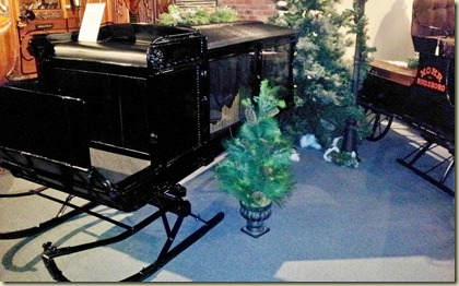 National Museum of Funeral History sleigh hearse