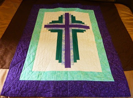 Dontation Quilt for Carol Joy Holling Camp Sept. 2014