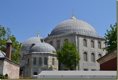 Istanbul St Sophia Domes