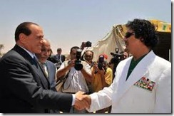 Gheddafi-Berlusconi