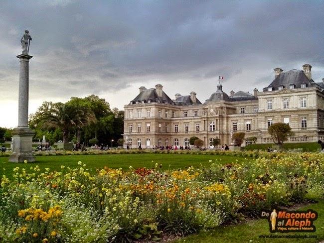 Jardines del Luxemburgo Visitar París 2