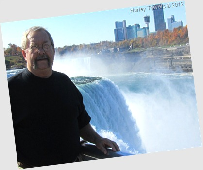 Jerry at Horseshoe Falls