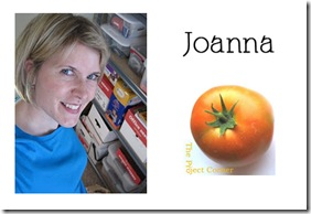Joanna - The Project Corner