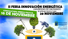 II Feria de Innovacin Energtica Universidad de Valparaso convocatoria abierta!
