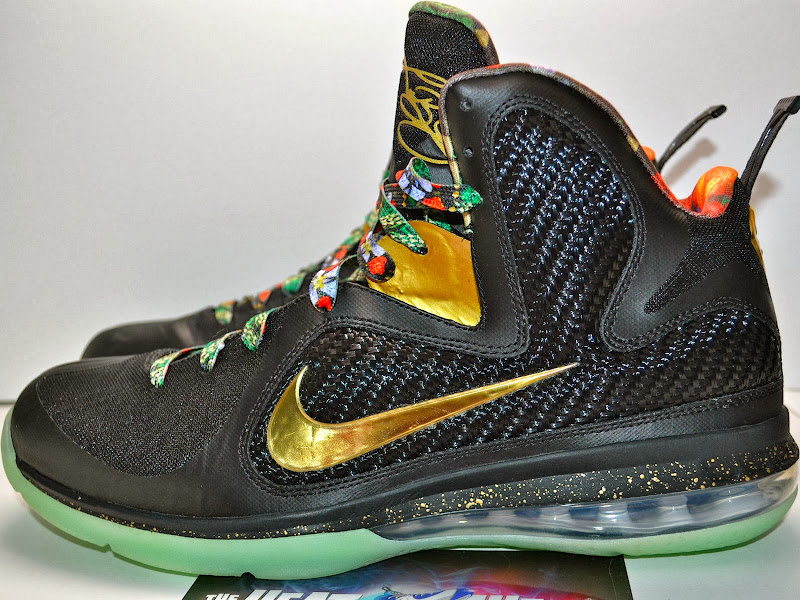 nike lebron 9 pe watch the throne glow Nike LeBron 9Watch The Throne Lebron 9