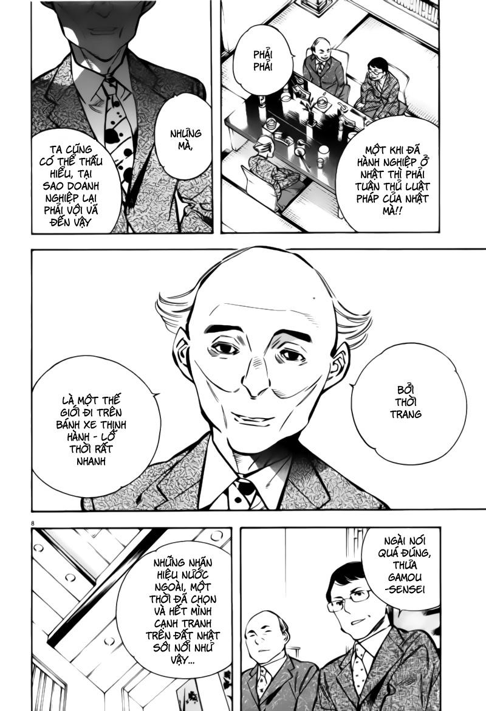 Shin Kurosagi - Con Diệc Đen 2 chap 197 - Trang 8