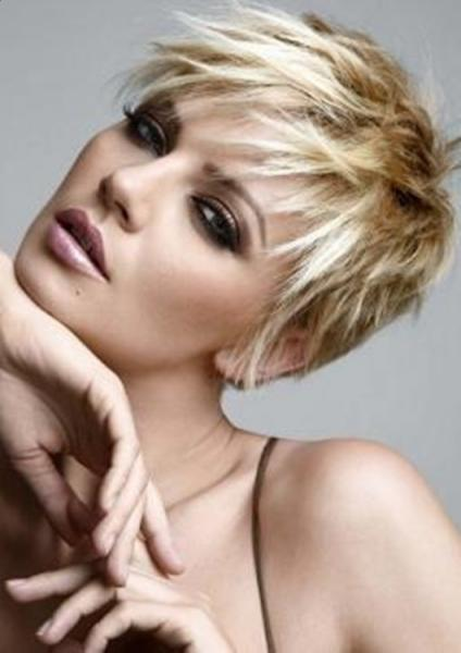 Short Blonde Hairstyles 2013