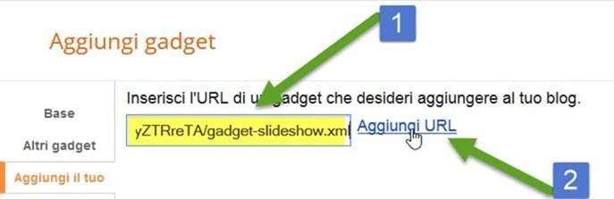 aggiungi-url-blogger-gadget