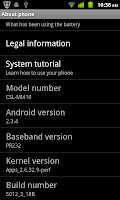 The 2.3.4 ROM was provided by Spice and comes from CSL who is the orignal manufacturer of this device