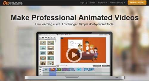 crear animaciones con GoAnimate