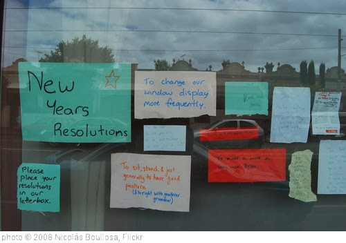 'new year's resolutions. the aussie way.' photo (c) 2008, Nicolás Boullosa - license: http://creativecommons.org/licenses/by/2.0/