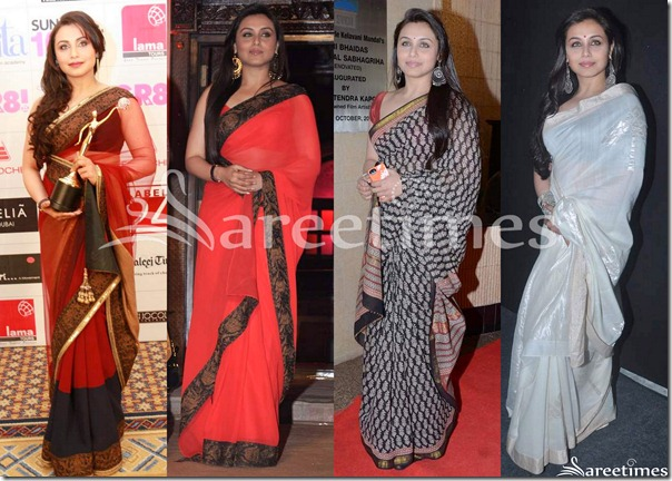 Bollywood_Rani_Mukherjee_Sarees