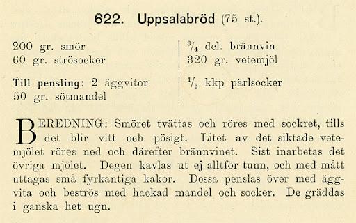 recept på Uppsalabröd